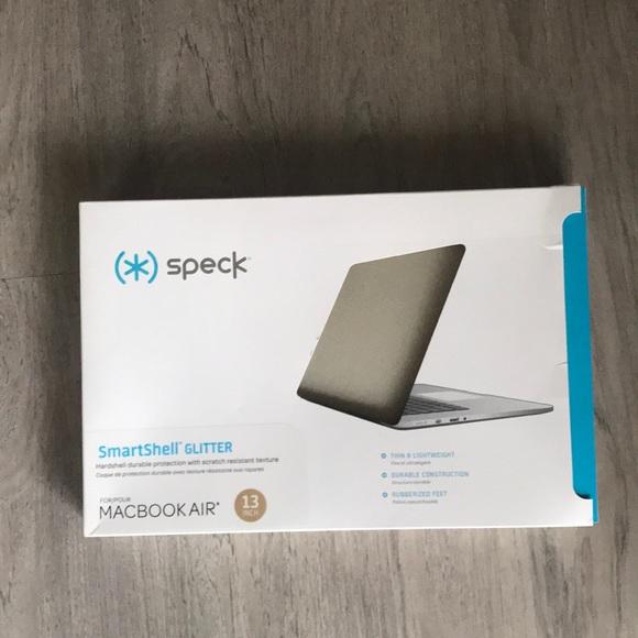 """newest 59aee 454c4 Speck Smartshell Glitter MacBook Air Case 13"""" NWT"""